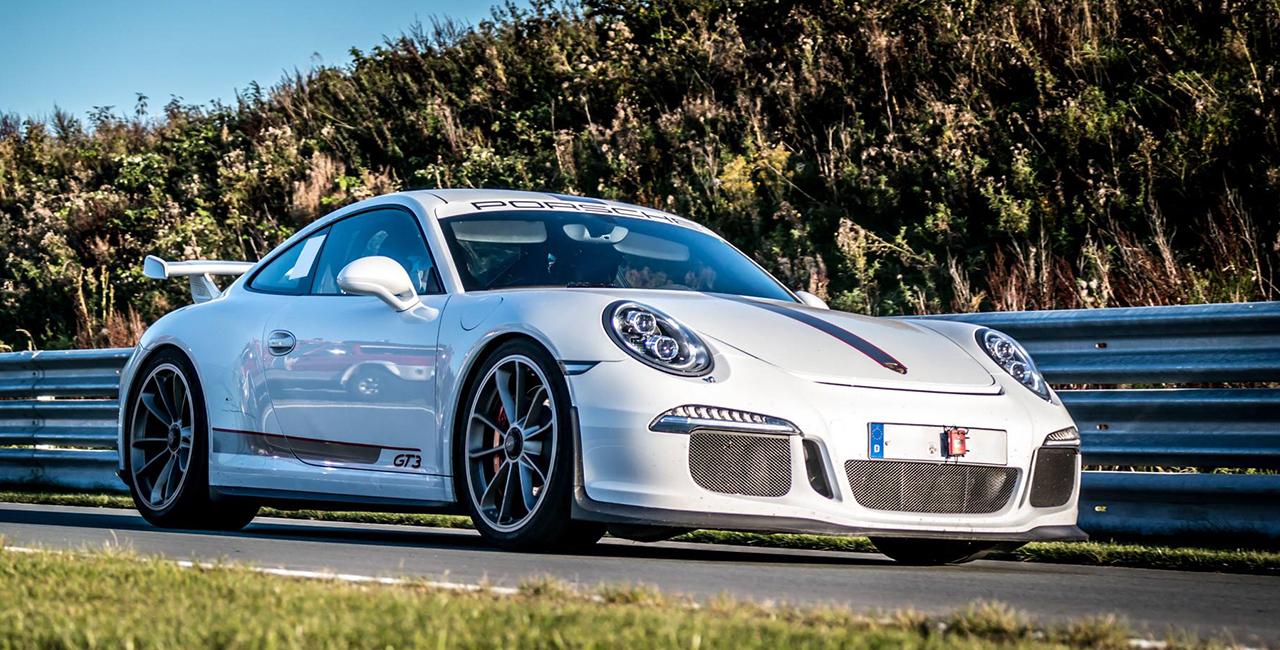 4 Runden Porsche GT3 selber fahren auf dem Circuit Park Zandvoort