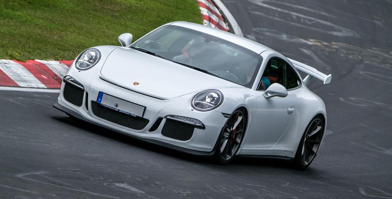 4 Runden Porsche GT3 selber fahren auf dem Circuit Zolder