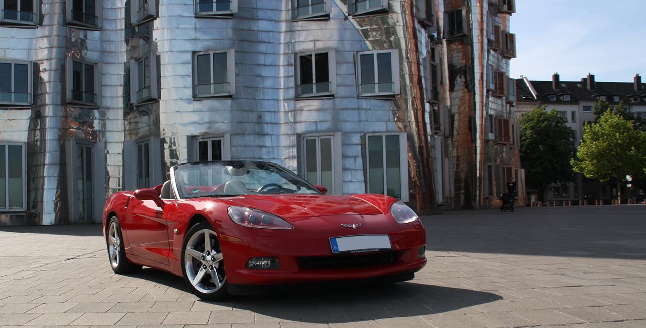 Corvette C6 Wochenende mieten in Düsseldorf