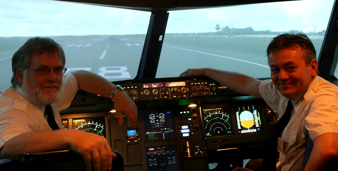 90 Min. Flugsimulator A320 in Dresden