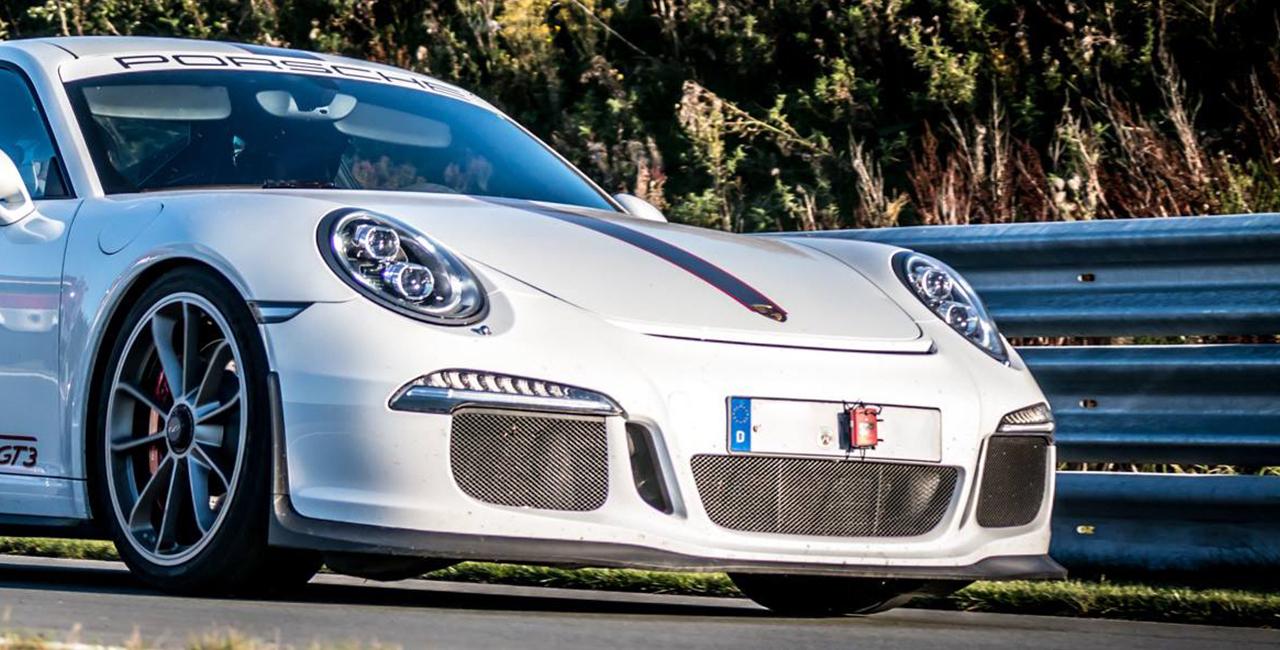 4 Runden Porsche GT3 selber fahren auf dem Hockenheimring