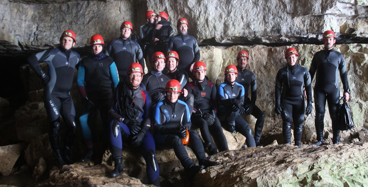 Höhlenexkursion in Grabenstetten, Raum Reutlingen
