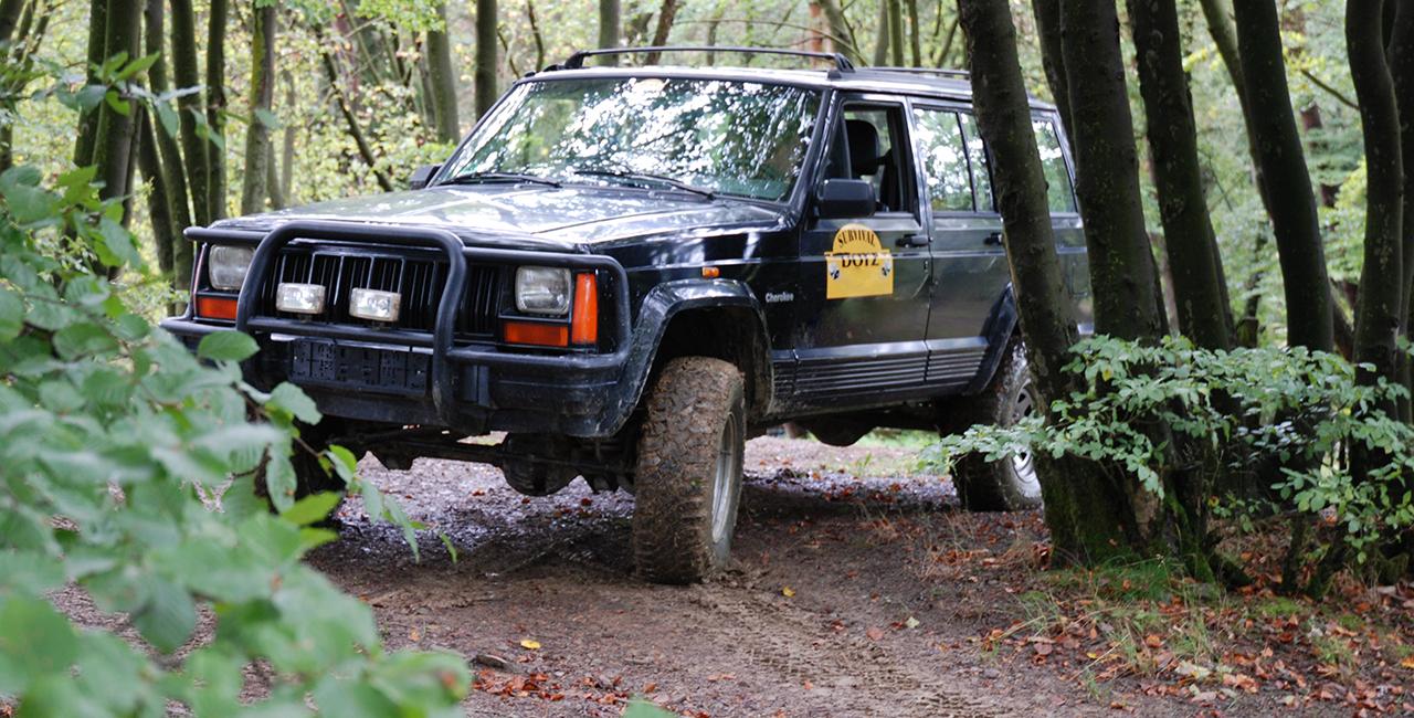 Jeep offroad selber fahren am Nürburgring, Rheinland-Pfalz