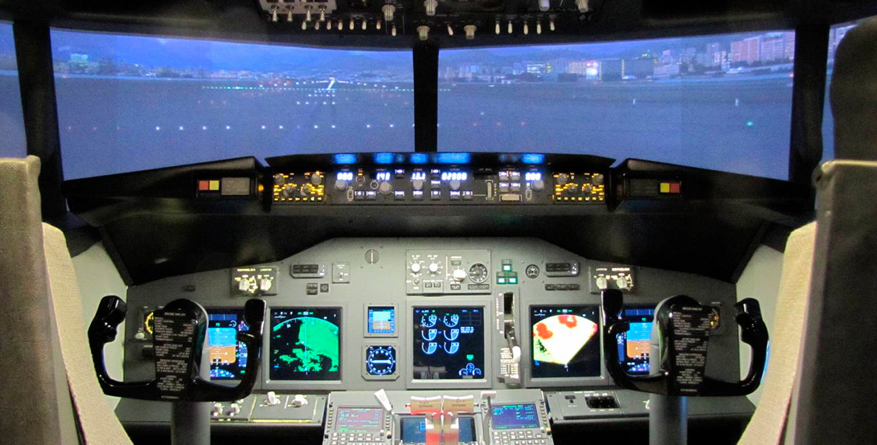 30 Min. Flugsimulator Boeing 737 in Karlsruhe