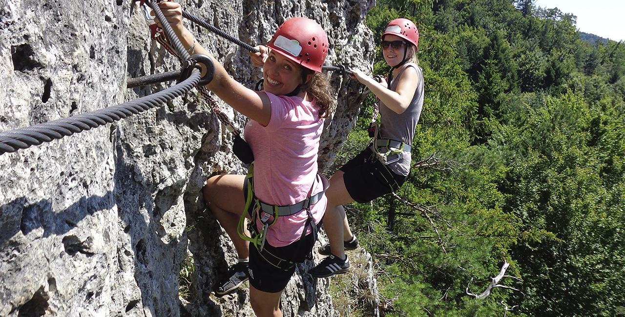 Kletterkurs in Hirschbach, Raum Nürnberg in Bayern