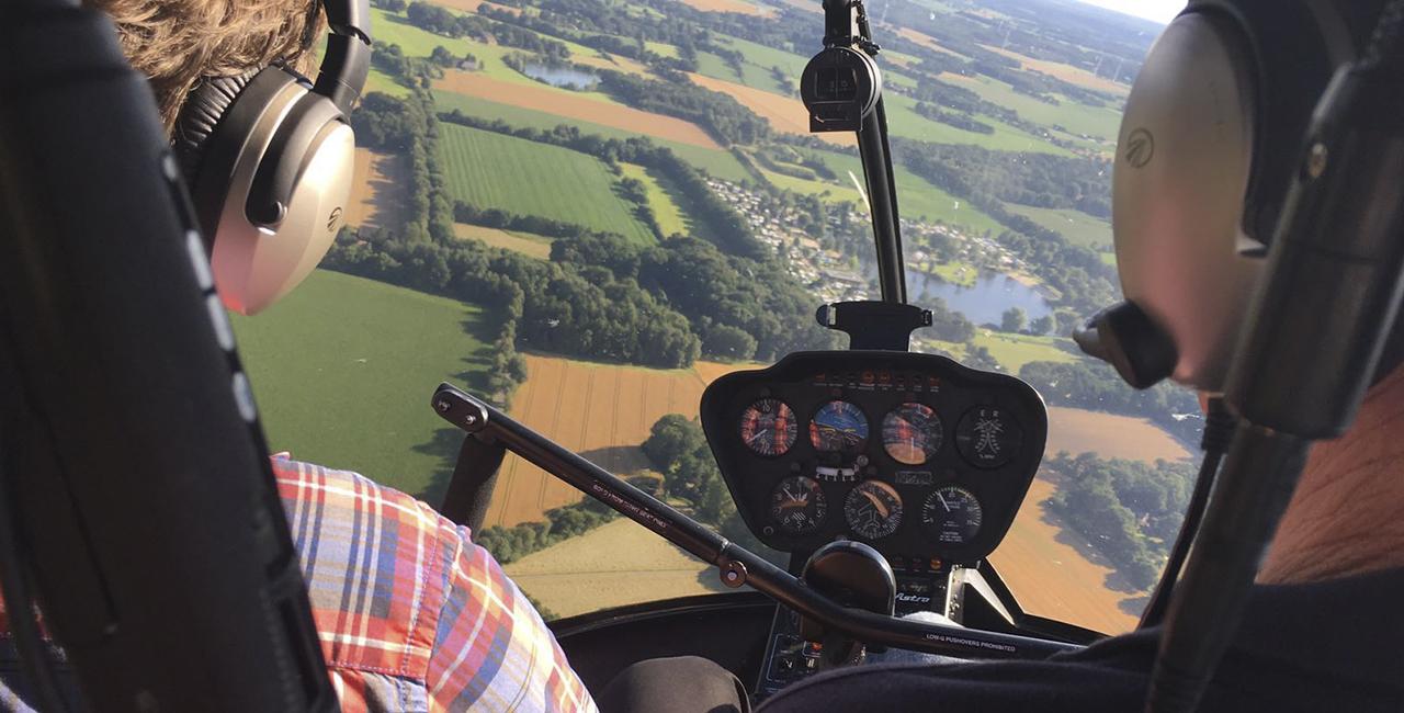30 Min. Hubschrauber Rundflug ab Bonn-Hangelar über Köln