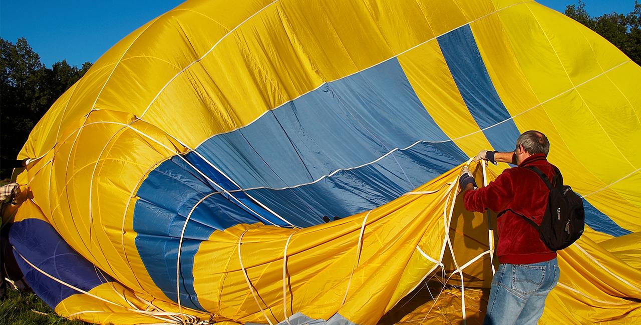 Romantische Ballonfahrt für Zwei Marktrodach