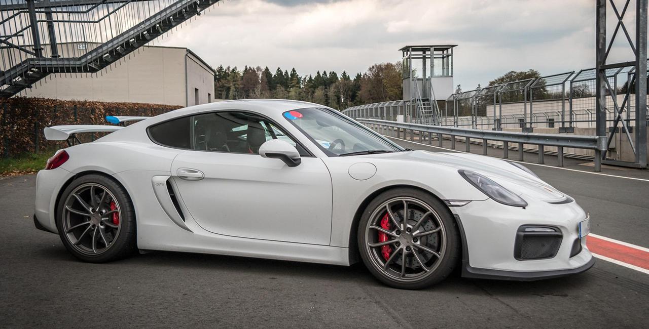 4 Runden Porsche GT4 selber fahren auf dem Nürburgring