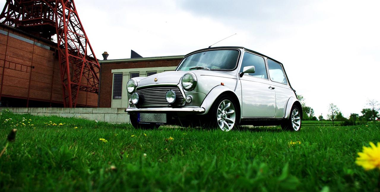 Oldtimer Mini Cooper mieten Bochum