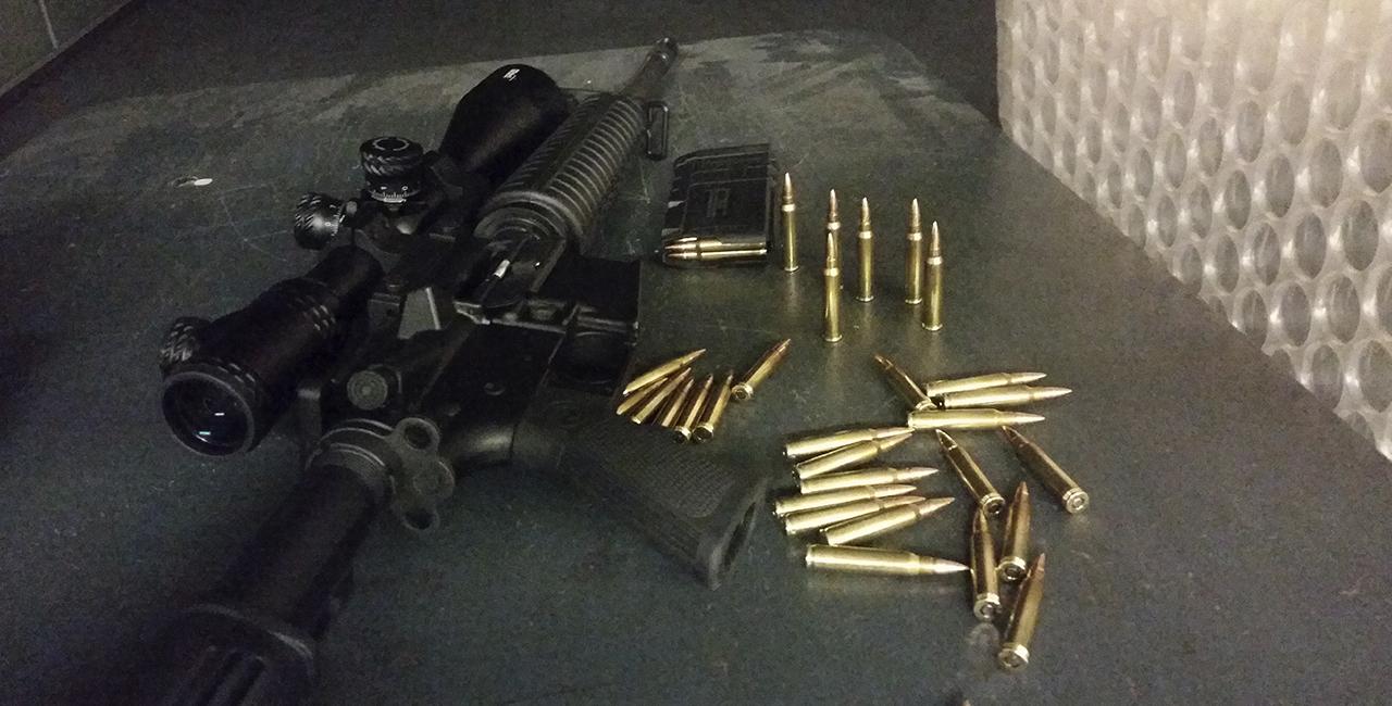Schießtraining Gewehr OA-15 black label Rosenheim
