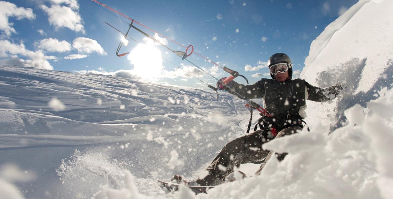 Snowkiten 2 Tageskurs in Lofer, Österreich