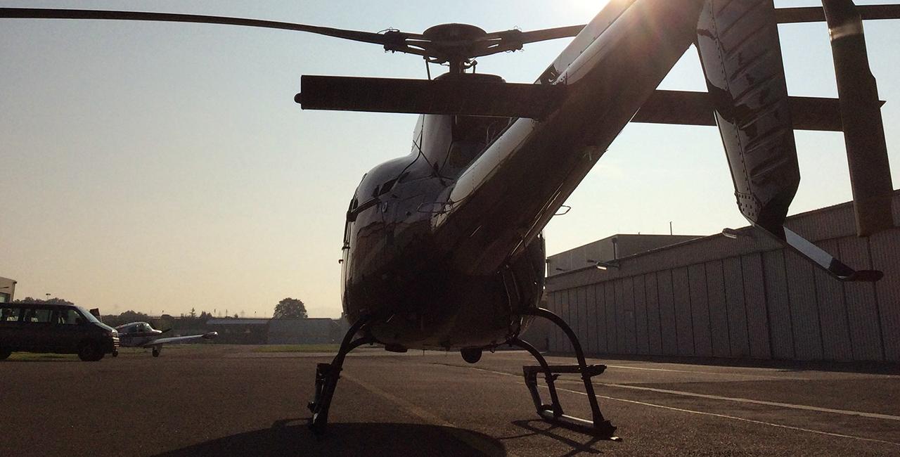 45 Min. Hubschrauber Rundflug über Burgen und Schlösser ab Stuttgart
