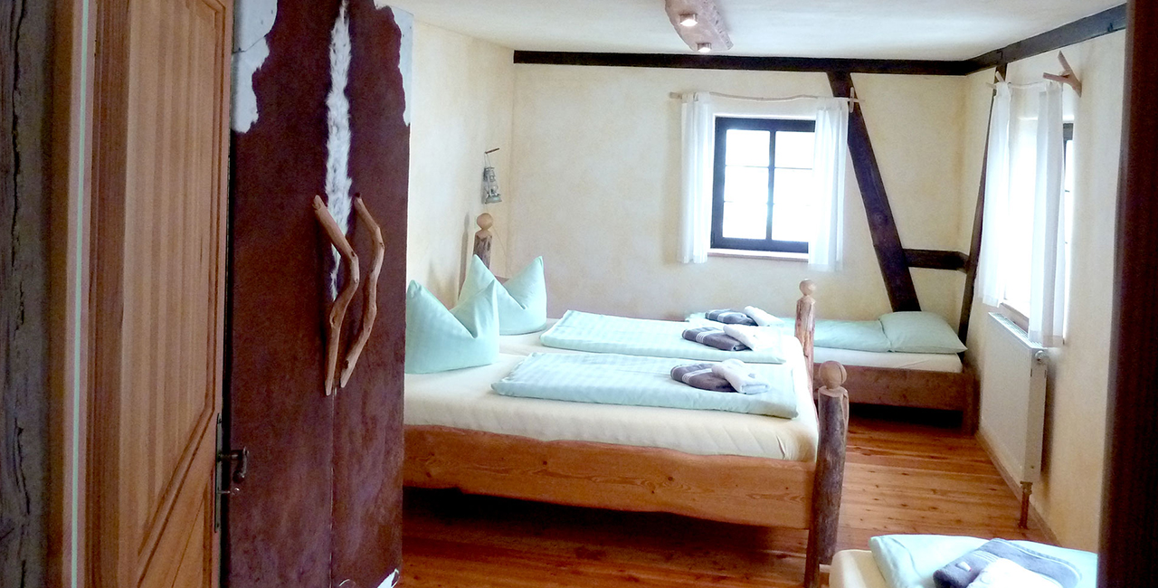 Übernachtung in der Flößerwohnung in Holzhau, Raum Dresden