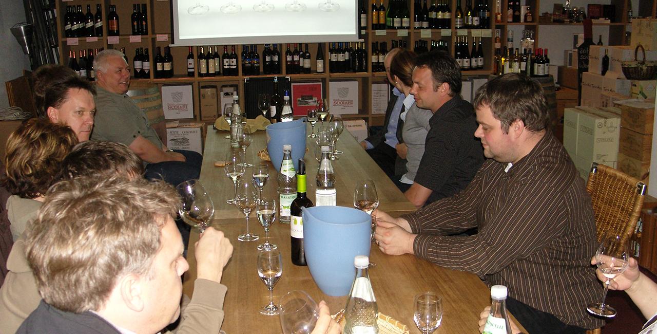 Weinverkostung Sensorik in Fürth, Bayern