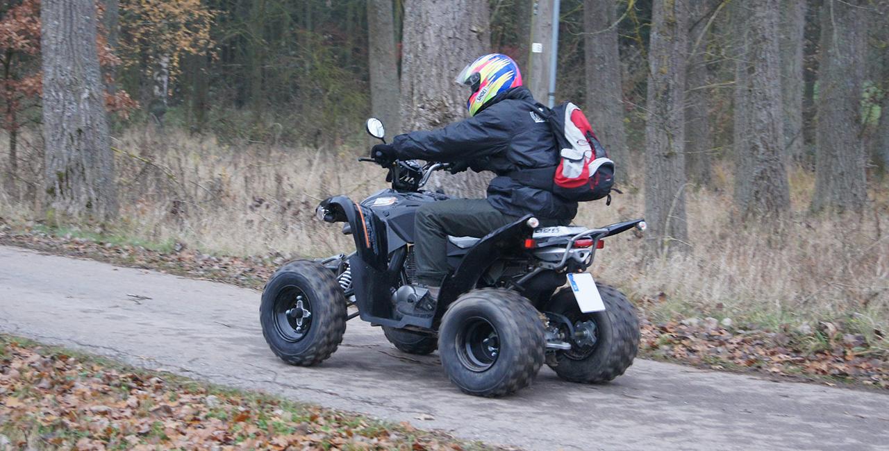 Winter Quad Tour Beifahrer Zeitlarn