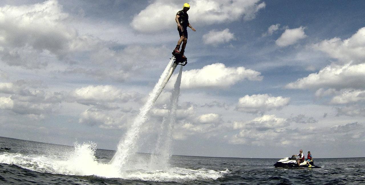 Flyboard Kurs auf der Ostsee in Zinnowitz