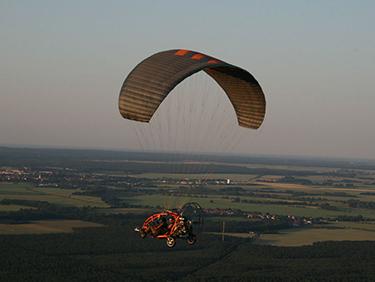 30 Min. Trike Rundflug Taucha