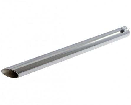 Auspuffblende CUPPINI gerade, für Vespa alle Modelle L 200 mm, chrom