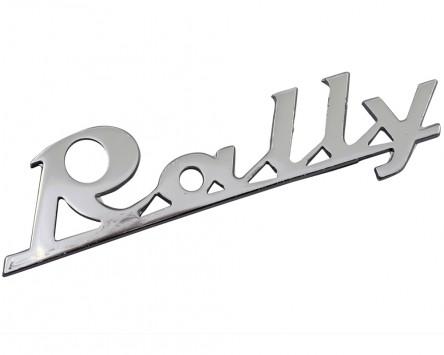 Schriftzug Aufkleber Sticker für Beinschild Rally 90x30mm