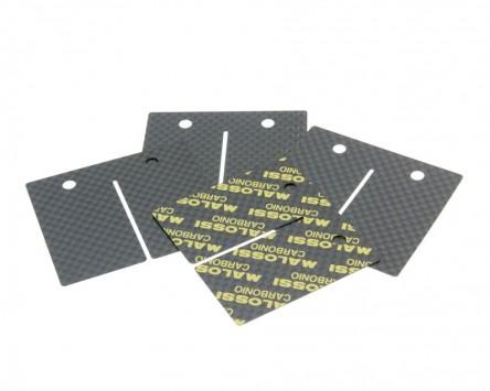 Membranplättchen Malossi Carbon für Membranblock VL17 AM6