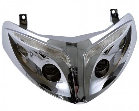 Scheinwerfer in Chrom für Peugeot Speedfight 2