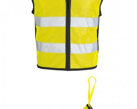 Sicherheitsweste IXS NEON II gelb-schwarz Gr.3XL/4XL