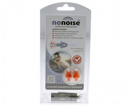 Gehörschutz NoNoise für Motorsport, inkl. Alu-Aufbewahrungsdose, Set