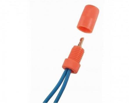 Kabelbinder Posi Twist / Endkappen Sortiment 0,2 - 5,0 qmm, 16 Stück