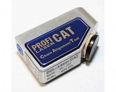Kettenfluchttestgerät Profi Products SE-CAT Punktlaser, Alu-Ausführung