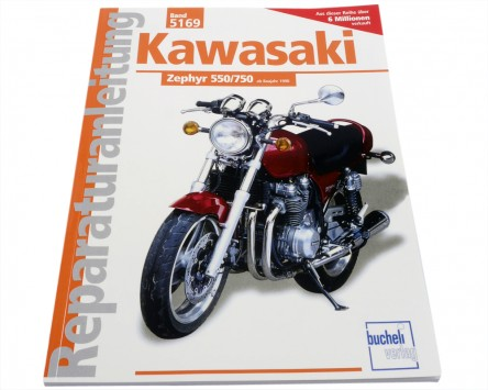 Reparatur-Anleitung Buch Kawasaki 550/750 Zephyr (ab 1990)