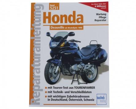 Reparatur-Anleitung Honda NTV 650 Deauville, 98-