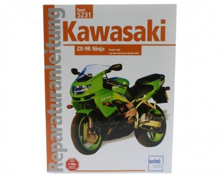 Reparatur-Anleitung Kawasaki ZX 9-R (ab 1998)