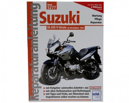 Reparatur-Anleitung Suzuki DL 650 V-Strom 04-