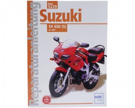 Reparatur-Anleitung Suzuki SV 650 S (ab 1999)