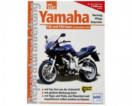 Reparatur-Anleitung Yamaha FZ6 Fazer, 04-
