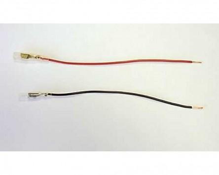 Rundsteckhülsenset (weiblich) D 3,5 mm mit Isolierung und Kabel 20 Teile pro Set