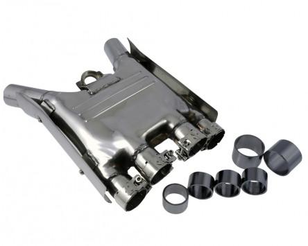 Sammler Auspuff Edelstahl, Yamaha FJ 1100, 84-85, FJ1200 86-93, XJR 1200 / 1300