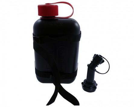 Kanister-Kit TraX schwarz, Kunststoff-Kanister UN-Zulassung, Motorrad