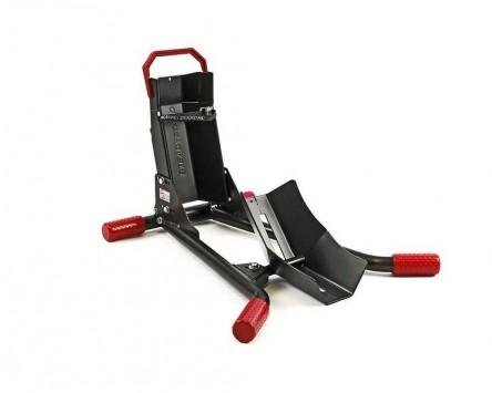 Motorradständer STEADYSTAND AC250, schwarz/rot