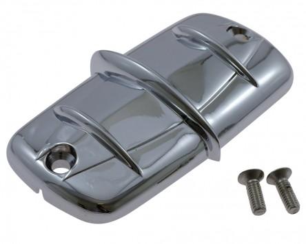 Abdeckung Bremsflüssigkeitsbehälter chrom für diverse Honda und Yamaha XV / XVZ