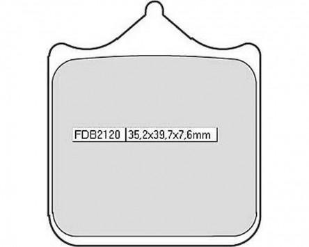 Bremsbeläge Sinter Racing Ferodo FDB 2123 XRAC