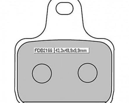 Bremsbeläge Sinter Racing Ferodo FDB 2166 XRAC (4 Beläge pro Satz)