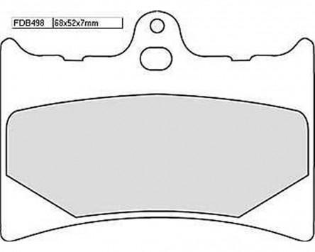 Bremsbeläge Sinter Racing Ferodo FDB 498 XRAC