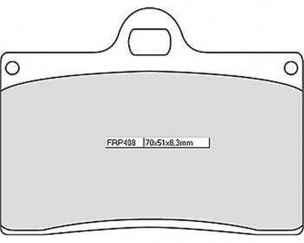 Bremsbeläge Sinter Racing Ferodo FRP 408 XRAC
