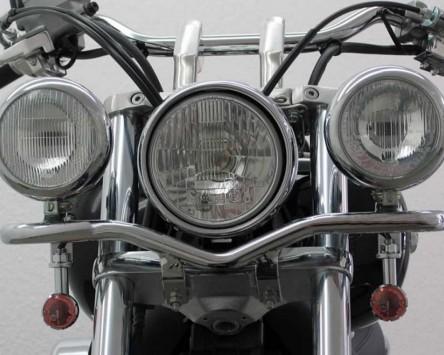Lampenhalter Deluxe für Zusatzscheinwerfer Honda VT 750 C4, CS (RC50) 2004-2007