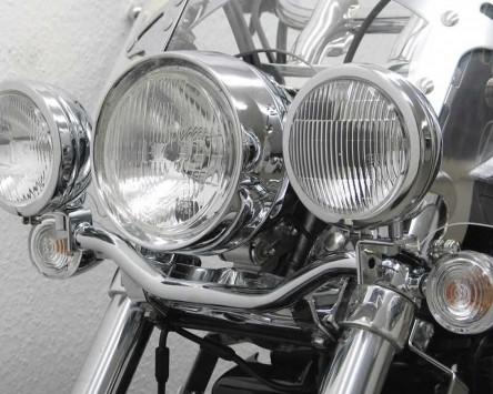 Lampenhalter für Zusatzscheinwerfer Triumph Thunderbird 1600, 2009