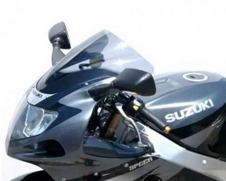 Scheibe MRA-Racingscheibe, Suzuki GSX-R 600, 01-03, GSX-R 750 00-03, schwarz