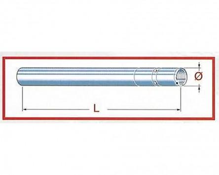 Standrohr Gabel Kawasaki ZRX 1200/S, D=43 mm L=613 mm
