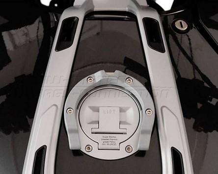 Tankring QUICK-LOCK Schwarz. BMW R1200 RT (05-).