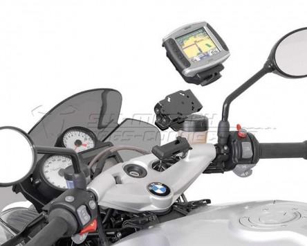 GPS Navi Halter Quick-Lock, schwarz, vibrationsgedämpft, BMW F 800 S 06-